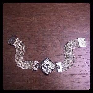 "Jewelry - Silver Initial ""T"" Bracelet"